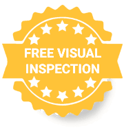 Free Visual Inspection Badge
