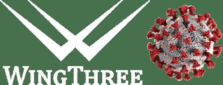 Logo With Virus Under Microscope