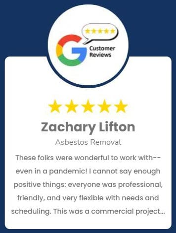 Zachary Lifton Asbestos Removal Review
